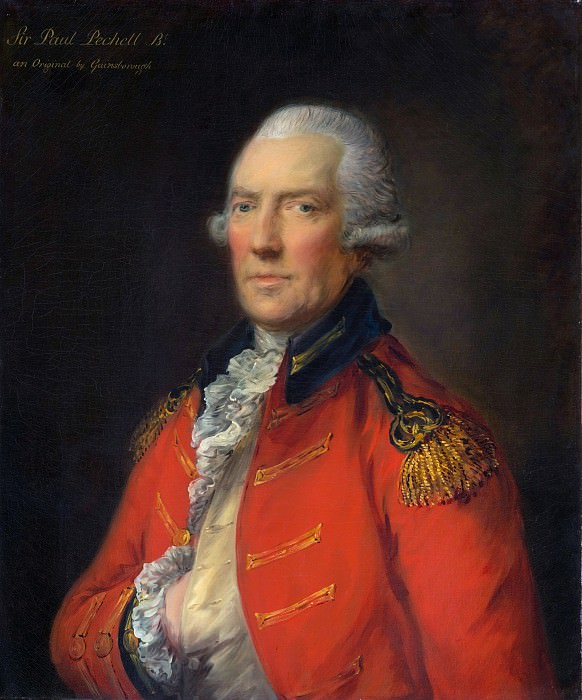 Thomas Gainsborough - Lieutenant Colonel Paul Pechell (1724–1800). Metropolitan Museum: part 4