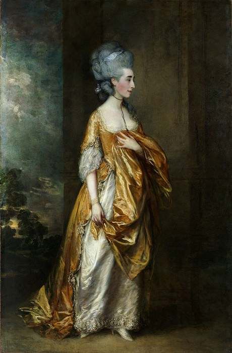 Thomas Gainsborough - Mrs. Grace Dalrymple Elliott (1754?–1823). Metropolitan Museum: part 4
