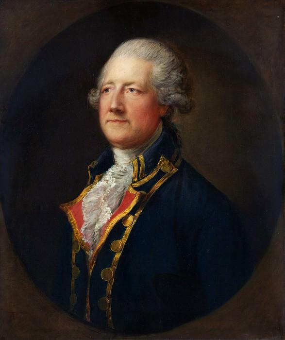 Thomas Gainsborough - John Hobart (1723–1793), 2nd Earl of Buckinghamshire. Metropolitan Museum: part 4