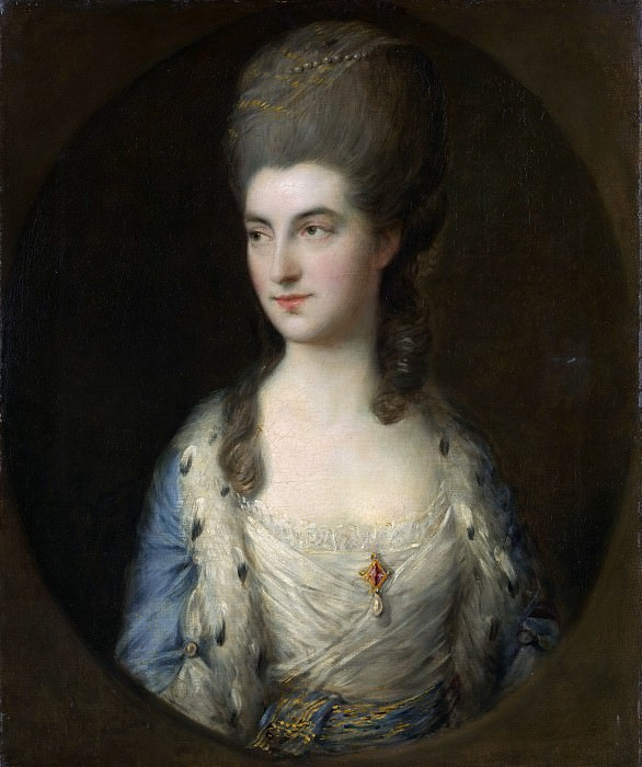 Thomas Gainsborough - Portrait of a Young Woman, Called Miss Sparrow. Metropolitan Museum: part 4