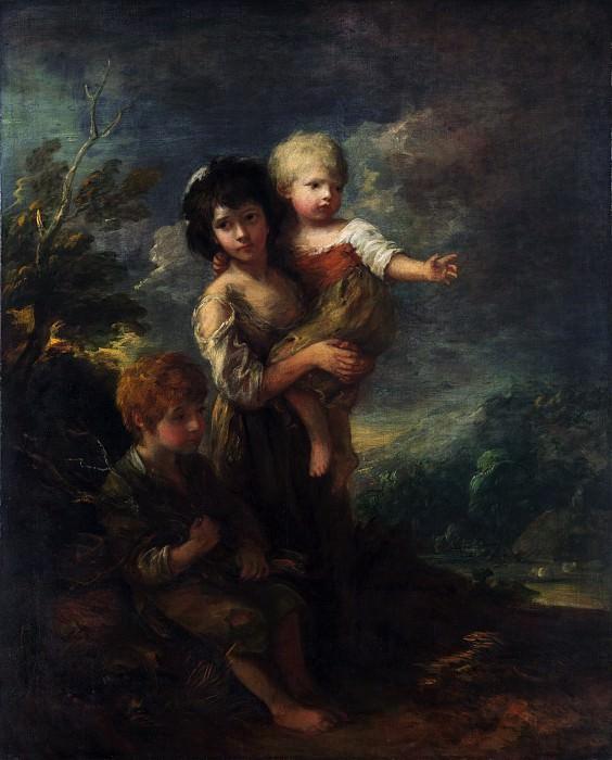 Thomas Gainsborough - Cottage Children (The Wood Gatherers). Metropolitan Museum: part 4