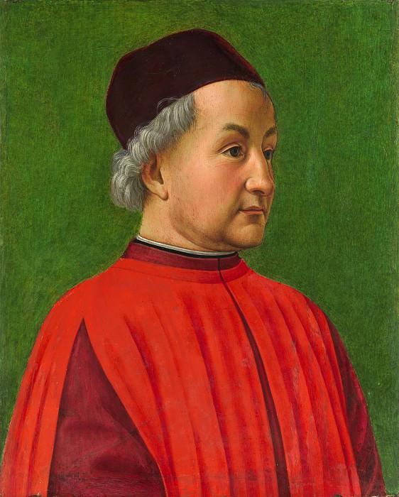 Domenico Ghirlandaio (Italian, Florence 1448/49–1494 Florence) - Portrait of a Man. Metropolitan Museum: part 4