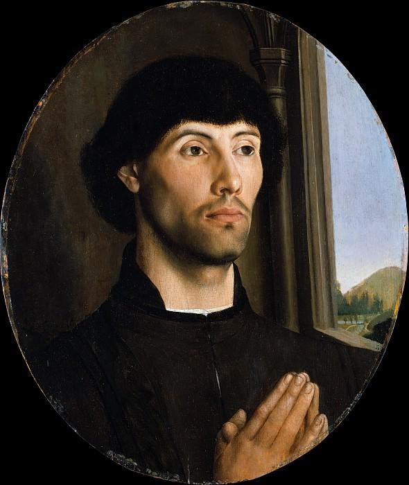Hugo van der Goes - Portrait of a Man. Metropolitan Museum: part 4