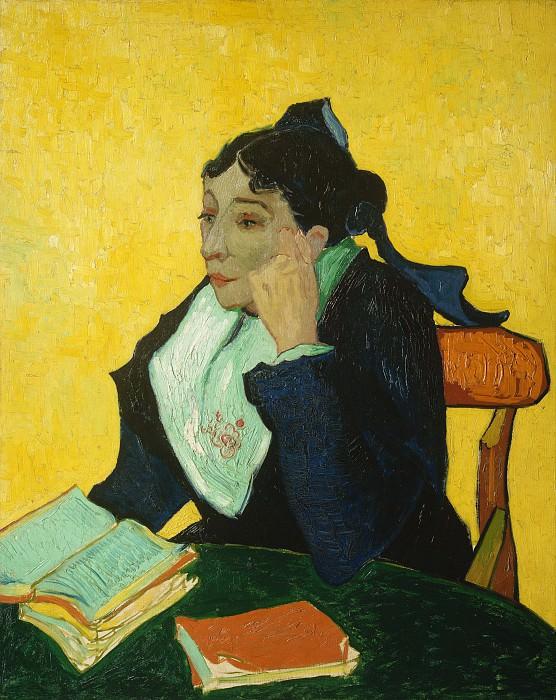 Винсент ван Гог - Арлезианка: Мадам Жозеф-Мишель Жину (урожденная Мари Жюльен, 1848-1911). Музей Метрополитен: часть 4