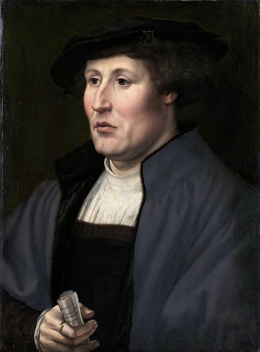 Jan Gossart (Netherlandish, Maubeuge ca. 1478–1532 Antwerp (?)) - Portrait of a Man. Metropolitan Museum: part 4