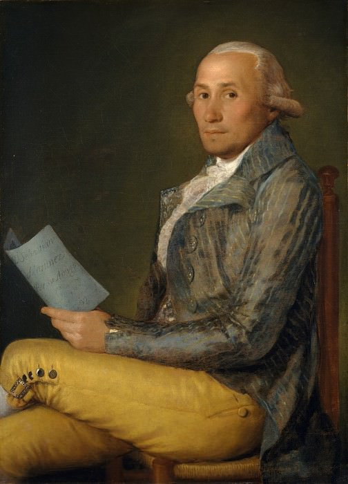 Goya (Spanish, Fuendetodos 1746–1828 Bordeaux) - Sebastián Martínez y Pérez (1747–1800). Metropolitan Museum: part 4