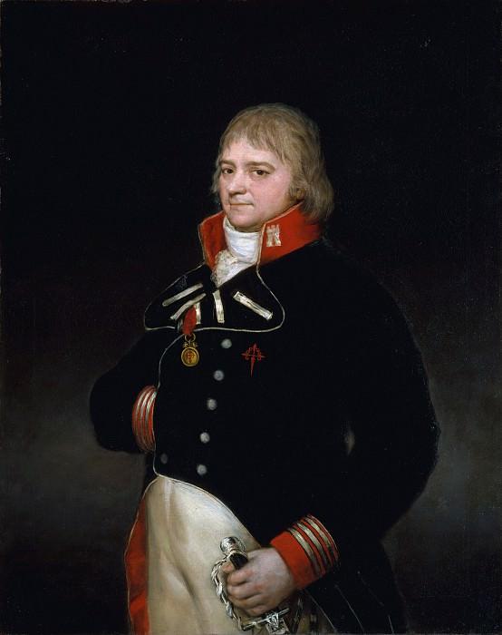 Goya (Spanish, Fuendetodos 1746–1828 Bordeaux) - Ignacio Garcini y Queralt (1752–1825), Brigadier of Engineers. Metropolitan Museum: part 4