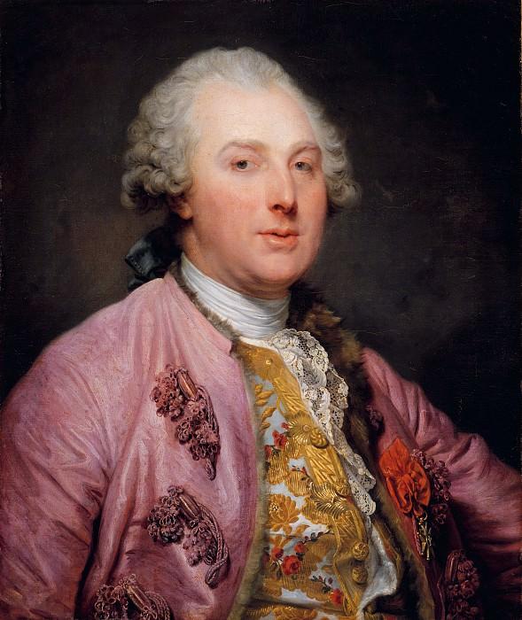Jean Baptiste Greuze - Charles Claude de Flahaut de La Billarderie (1730–1809), Comte d'Angiviller. Metropolitan Museum: part 4