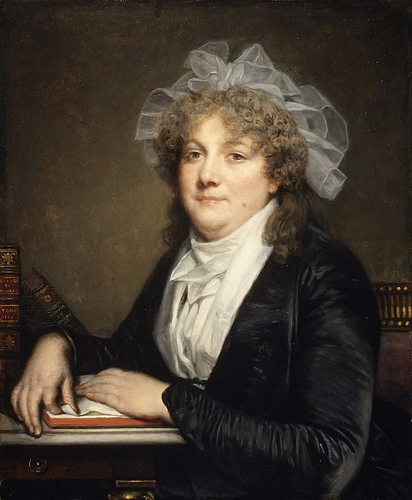 Жан-Батист Грез - Госпожа Жан Батист Николе (Анна Антуанетта Демулен, 1743-1817). Музей Метрополитен: часть 4