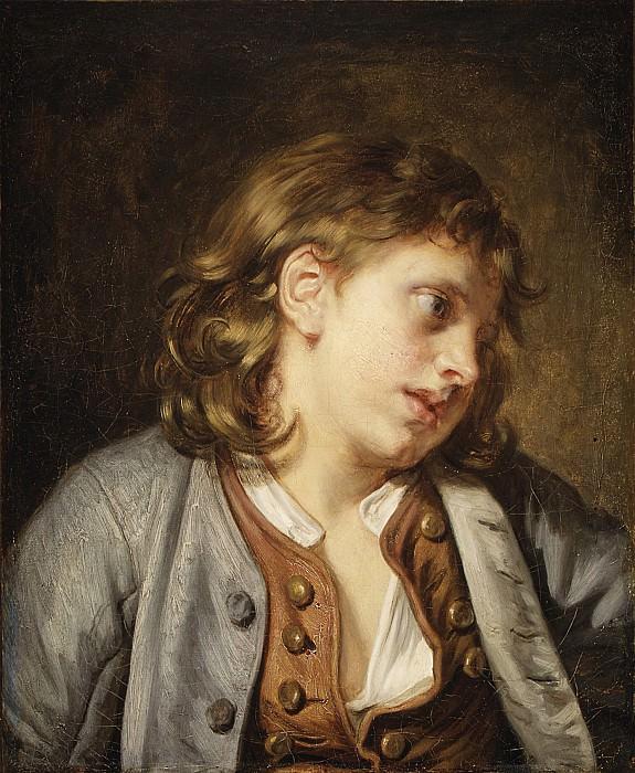 Jean Baptiste Greuze - A Young Peasant Boy. Metropolitan Museum: part 4