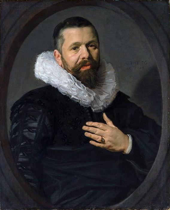 Frans Hals - Portrait of a Bearded Man with a Ruff. Metropolitan Museum: part 4