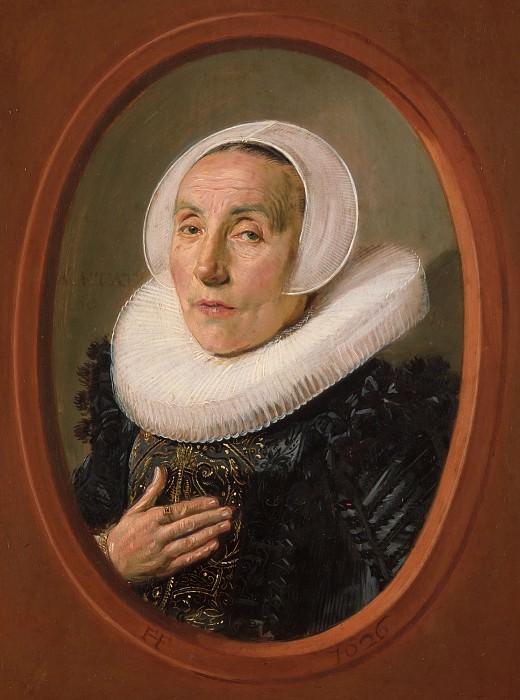 Frans Hals - Anna van der Aar (born 1576/77, died after 1626). Metropolitan Museum: part 4
