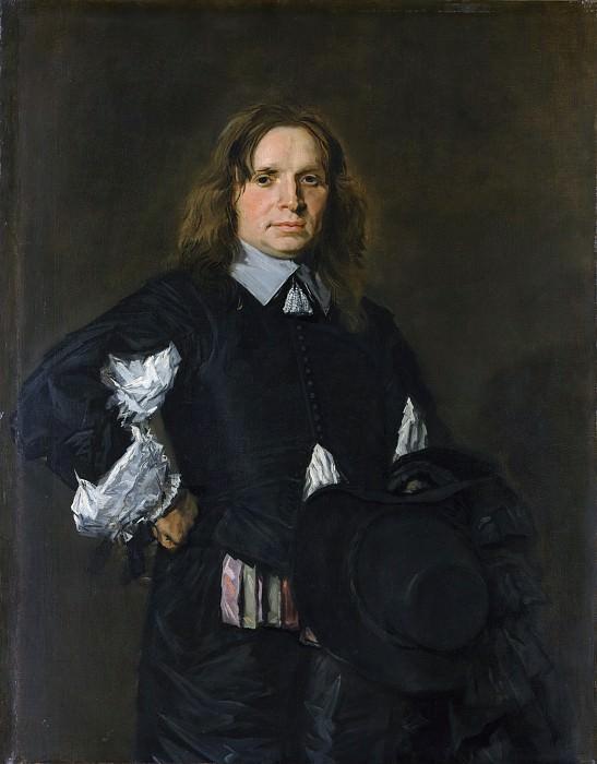 Frans Hals - Portrait of a Man. Metropolitan Museum: part 4