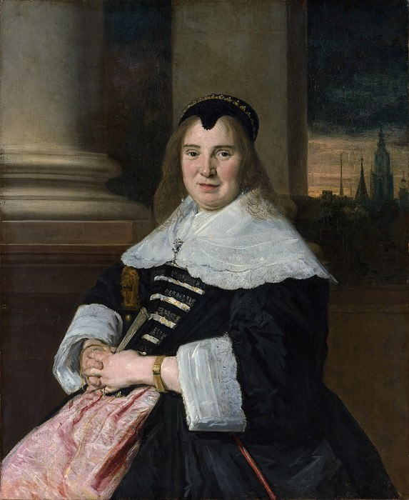 Frans Hals - Portrait of a Woman. Metropolitan Museum: part 4