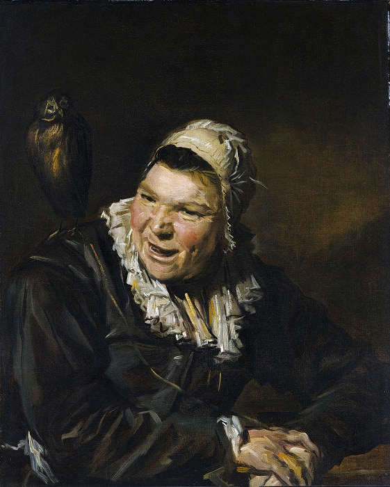 Style of Frans Hals - Malle Babbe. Metropolitan Museum: part 4
