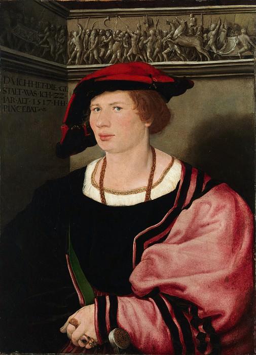 Hans Holbein the Younger - Benedikt von Hertenstein (born about 1495, died 1522). Metropolitan Museum: part 4