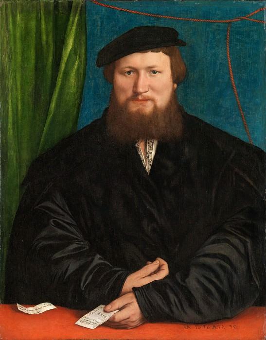 Hans Holbein the Younger - Derek Berck. Metropolitan Museum: part 4