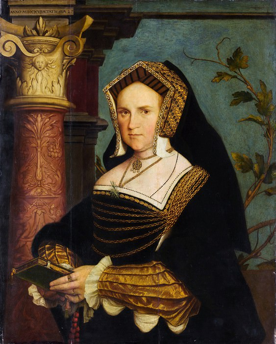 Copy after Hans Holbein the Younger - Lady Guildford (Mary Wotton, born 1500). Metropolitan Museum: part 4
