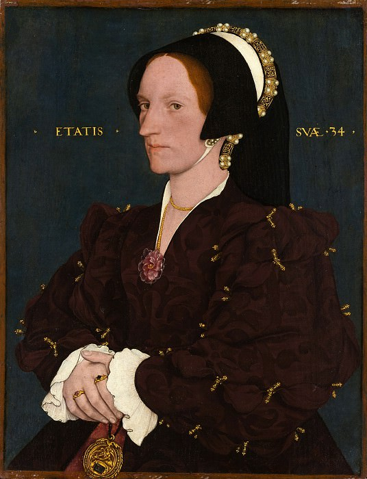 Copy after Hans Holbein the Younger - Lady Lee (Margaret Wyatt, born about 1509). Metropolitan Museum: part 4