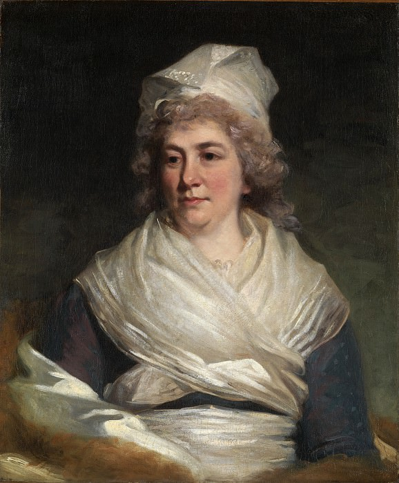 John Hoppner - Mrs. Richard Bache (Sarah Franklin, 1743–1808). Metropolitan Museum: part 4