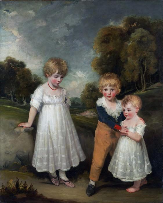 John Hoppner - The Sackville Children. Metropolitan Museum: part 4