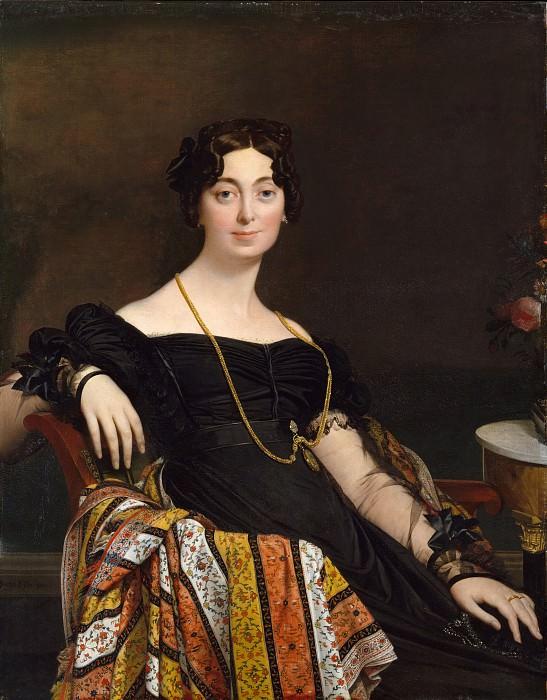 Жан-Огюст-Доминик Энгр - Мадам Жак-Луи Леблан (урожденная Франсуаза Понсель, 1788-1839). Музей Метрополитен: часть 4