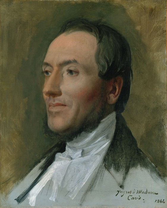 Jean-Auguste-Dominique Ingres - Edmond Cavé (1794–1852). Metropolitan Museum: part 4
