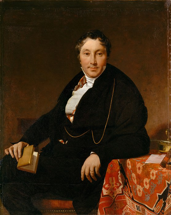 Jean-Auguste-Dominique Ingres - Jacques-Louis Leblanc (1774–1846). Metropolitan Museum: part 4