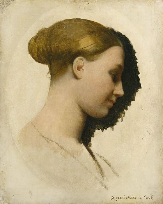 Jean-Auguste-Dominique Ingres - Madame Edmond Cavé (Marie-Élisabeth Blavot, born 1810). Metropolitan Museum: part 4