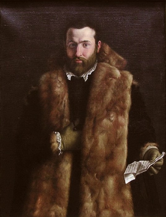 Italian Painter, about 1540 - Portrait of a Man in a Fur-Trimmed Coat. Metropolitan Museum: part 4