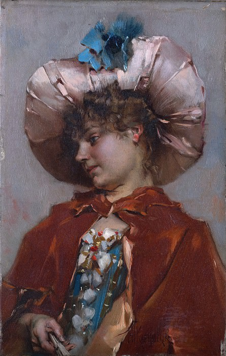 Frederik Hendrik Kaemmerer - Young Woman. Metropolitan Museum: part 4