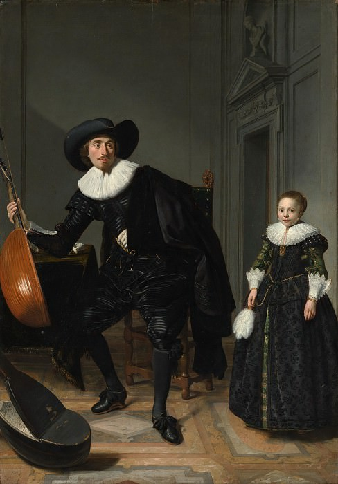 Thomas de Keyser 1596/97–1667 Amsterdam) - A Musician and His Daughter. Metropolitan Museum: part 4