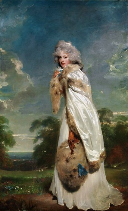 Sir Thomas Lawrence - Elizabeth Farren (born about 1759, died 1829), Later Countess of Derby. Metropolitan Museum: part 4