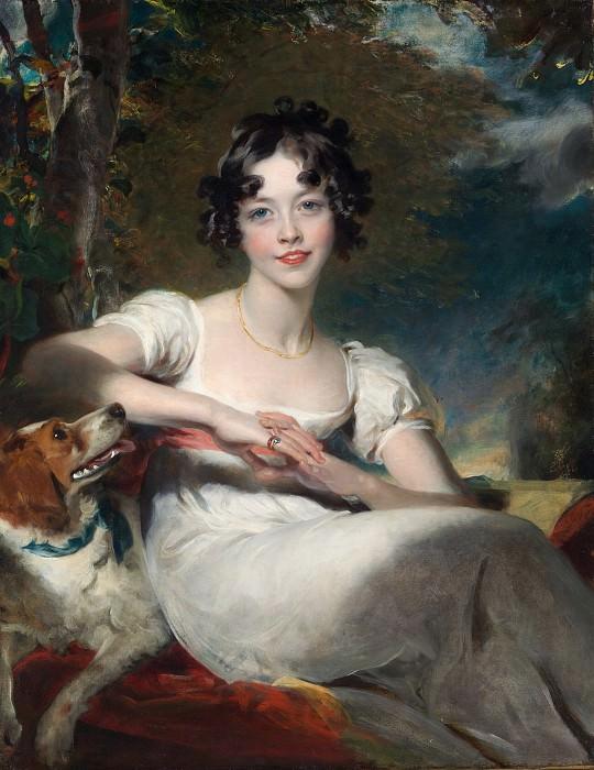 Sir Thomas Lawrence - Lady Maria Conyngham (died 1843). Metropolitan Museum: part 4