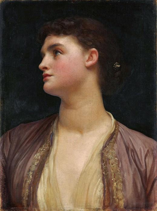 Frederic, Lord Leighton - Lucia. Metropolitan Museum: part 4