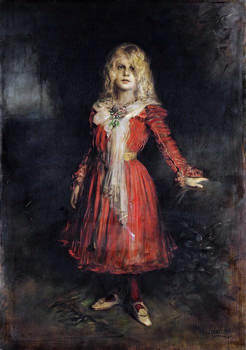Franz von Lenbach - Marion Lenbach (1892–1947), the Artist's Daughter. Metropolitan Museum: part 4