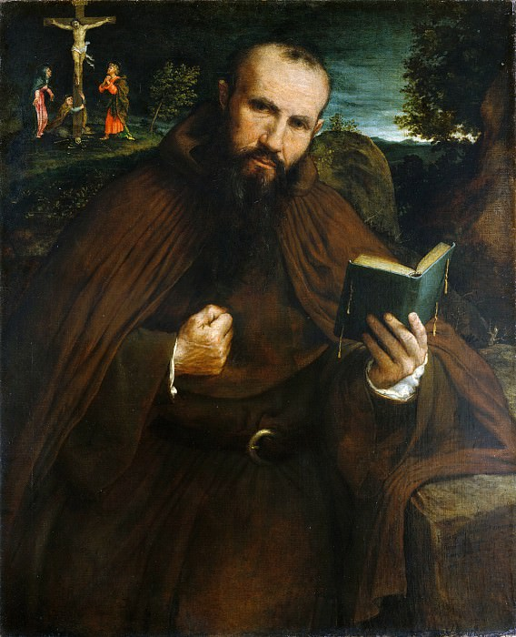Lorenzo Lotto - Brother Gregorio Belo of Vicenza. Metropolitan Museum: part 4