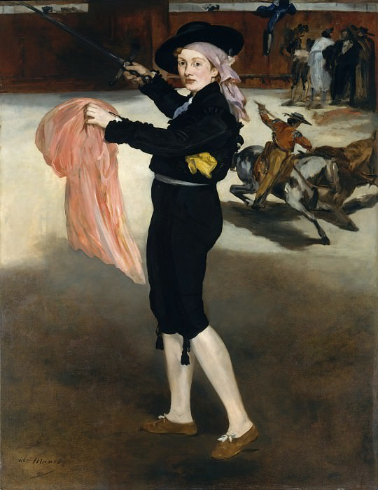 Édouard Manet - Mademoiselle V. . . in the Costume of an Espada. Metropolitan Museum: part 4