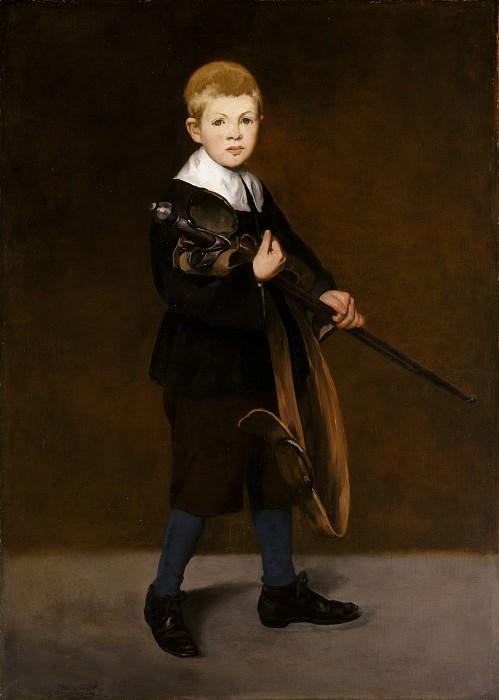 Мальчик с мечом. Эдуард Мане