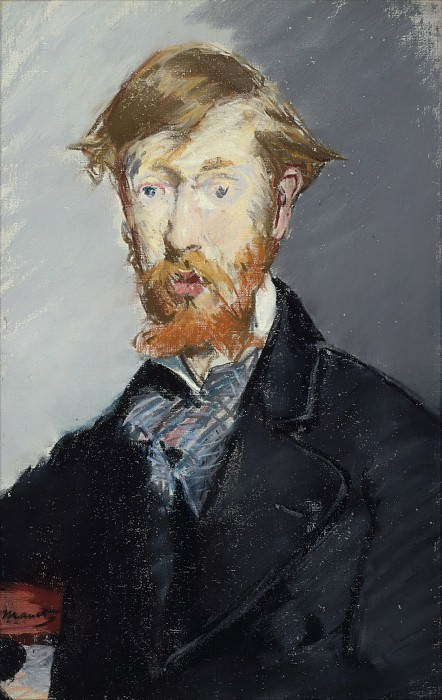 George Moore (1852–1933). Édouard Manet