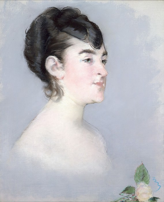 Édouard Manet - Mademoiselle Isabelle Lemonnier (1857–1926). Metropolitan Museum: part 4