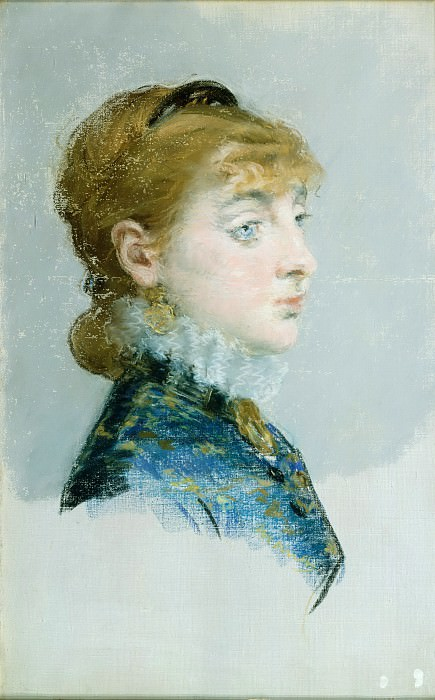 Mademoiselle Lucie Delabigne (1859–1910), Called Valtesse de la Bigne. Édouard Manet