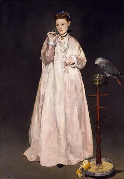 Édouard Manet - Young Lady in 1866. Metropolitan Museum: part 4