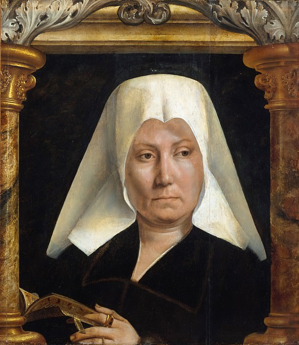 Quentin Massys (Netherlandish, Leuven 1465/66–1530 Kiel, near Antwerp) - Portrait of a Woman. Metropolitan Museum: part 4