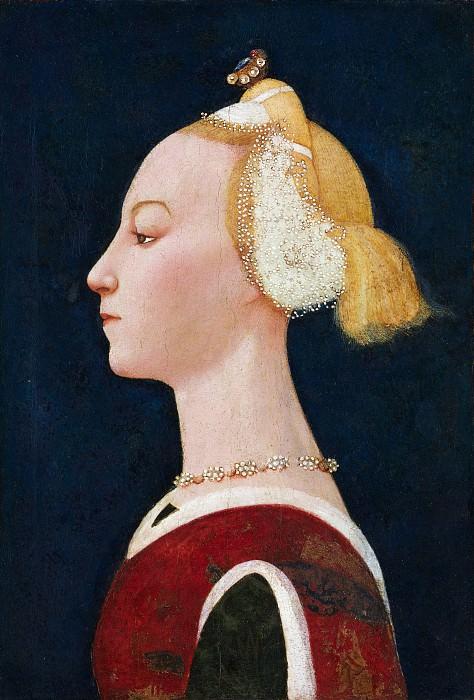 Master of the Castello Nativity - Portrait of a Woman. Metropolitan Museum: part 4