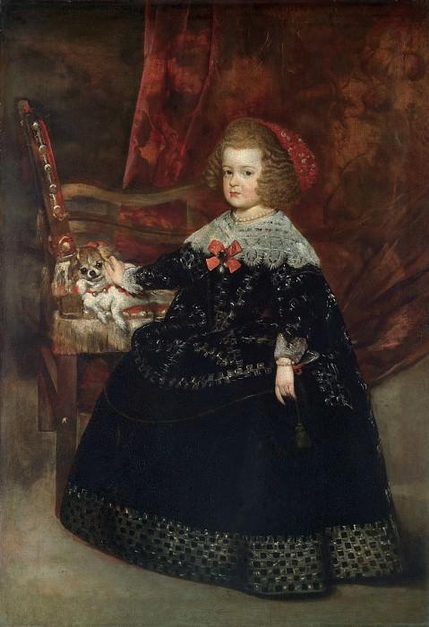 Juan Bautista Martínez del Mazo - María Teresa (1638–1683), Infanta of Spain. Metropolitan Museum: part 4