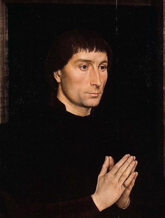 Hans Memling - Tommaso di Folco Portinari (1428–1501); Maria Portinari (Maria Maddalena Baroncelli, born 1456). Metropolitan Museum: part 4