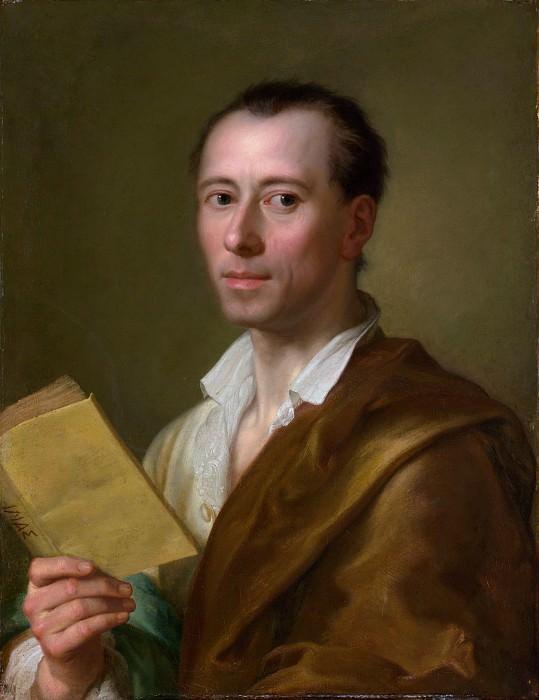 Anton Raphael Mengs - Johann Joachim Winckelmann (1717–1768). Metropolitan Museum: part 4