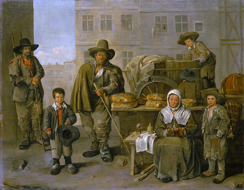 Jean Michelin - The Baker's Cart. Metropolitan Museum: part 4