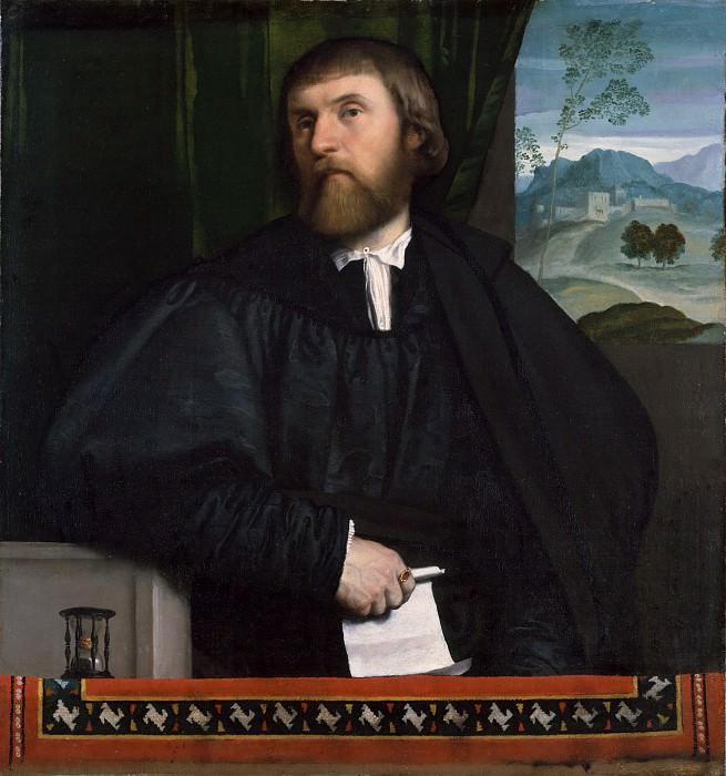 Моретто да Брешиа (Италия, Брешиа около 1498-1554) - Портрет мужчины. Музей Метрополитен: часть 4